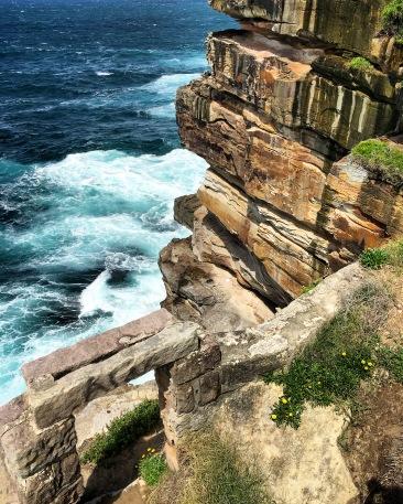 Sydney is built on sandstone